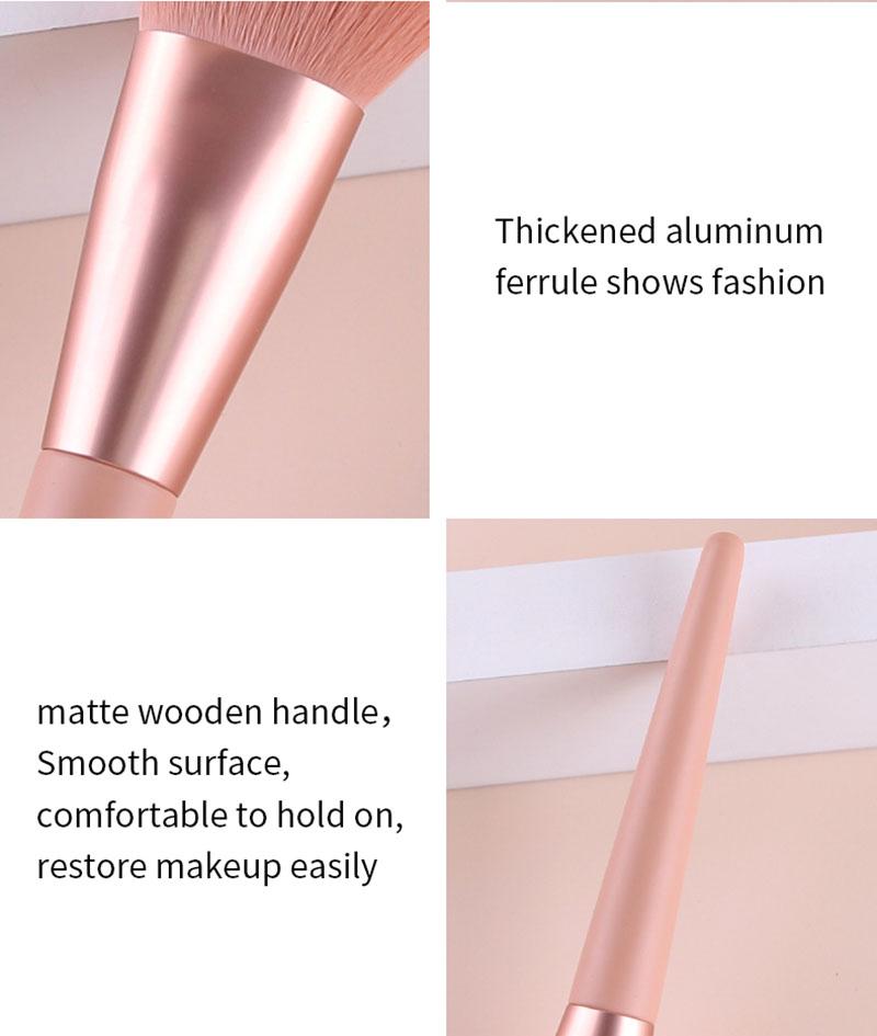 wood handle brush