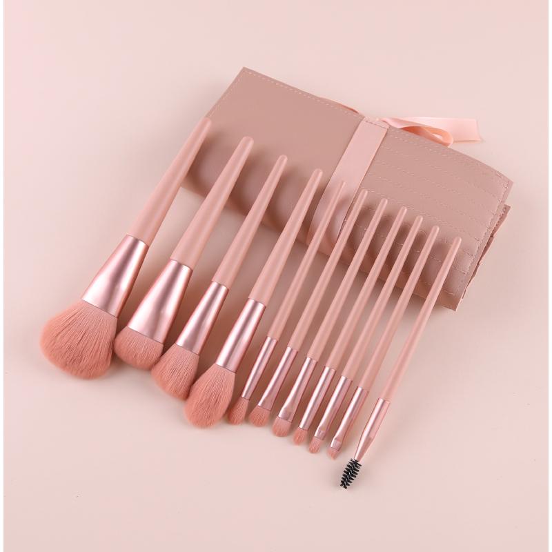 11pcs makeup brushes set