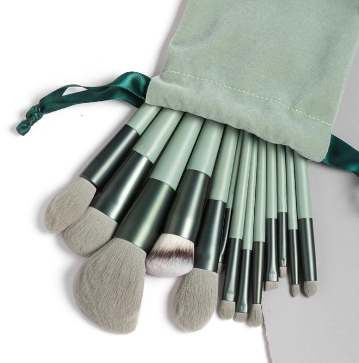 Matcha Green Makeup Brush Set Beauty Tools Brush Kit Collections