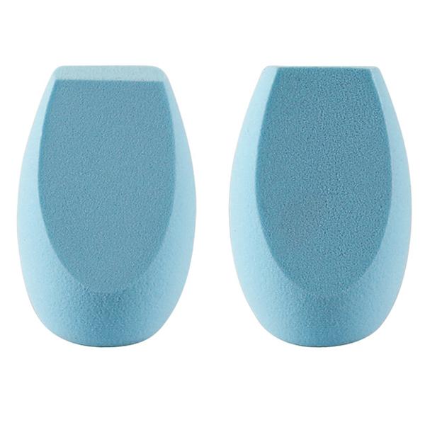 blue makeup sponges
