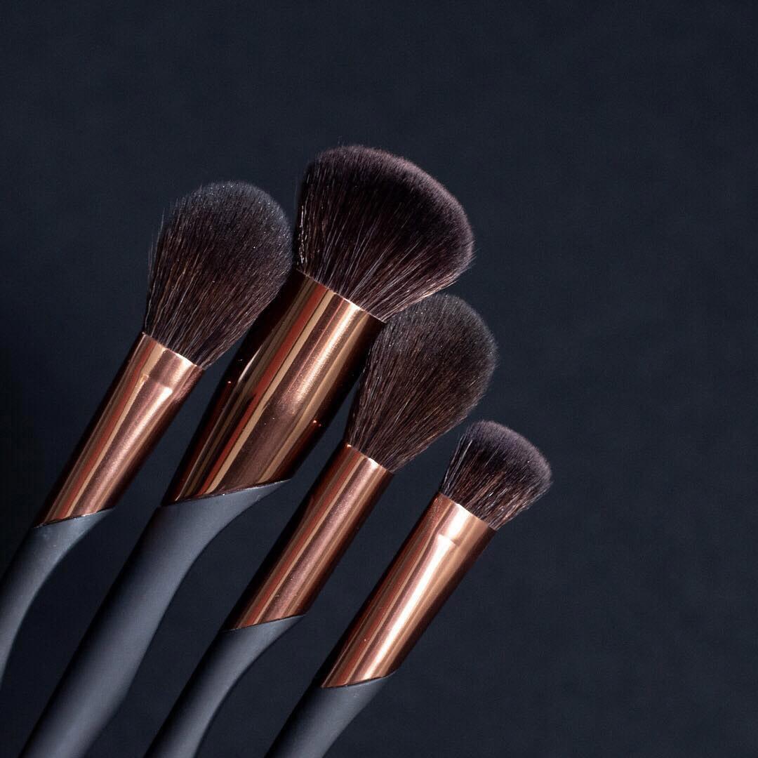 luxie beauty makeup brush set