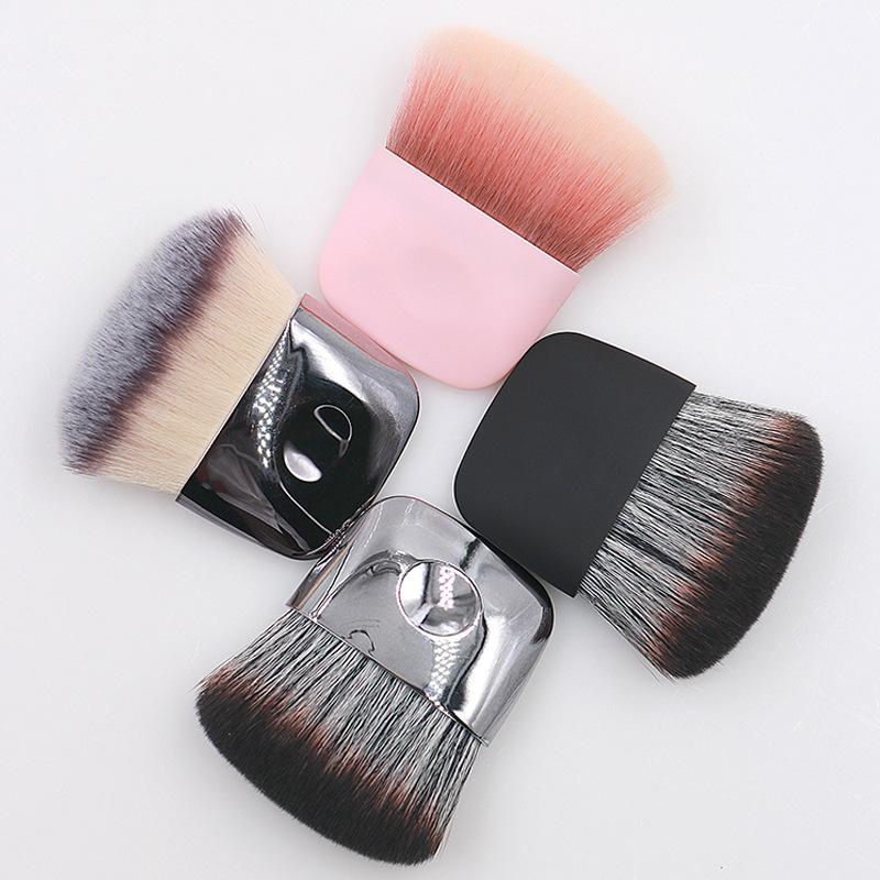 synthetic hair blush brush