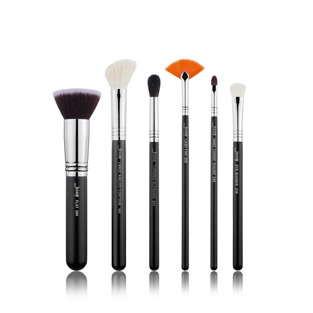 travel portable makeup brush set (912)