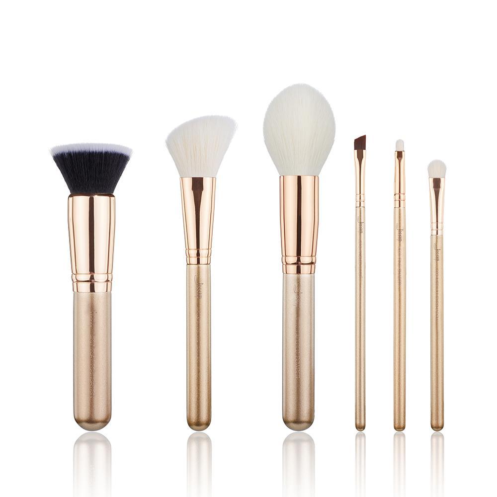 travel portable makeup brush set (915)